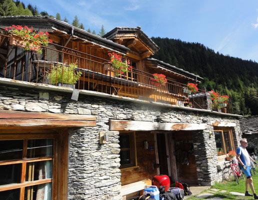 Das Chalet des Anges in Ste.Foy des Tarantaise. 10 km vor Val d'Isere