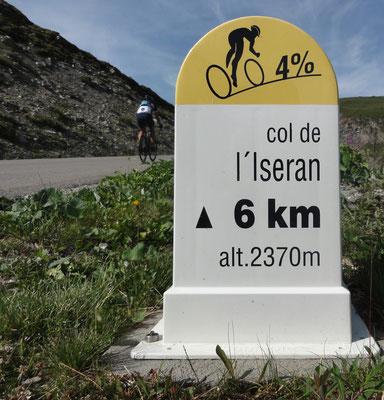 Wir sind zwar schon recht in der Höhe, aber es steigt noch 400 Höhenmeter.