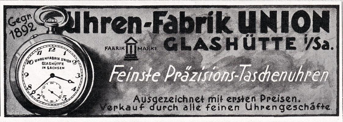 Werbeanzeige 1926