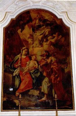 La Madonna con San Giuseppe e il Bambino Gesù
