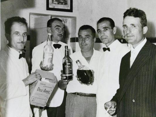 Anni '60- Bar Gatto Bianco (foto M.Amica)