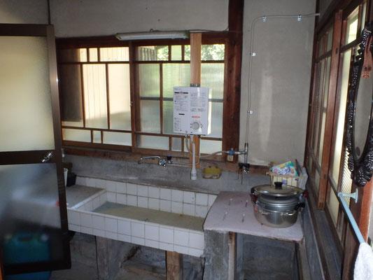 着工前 旧台所