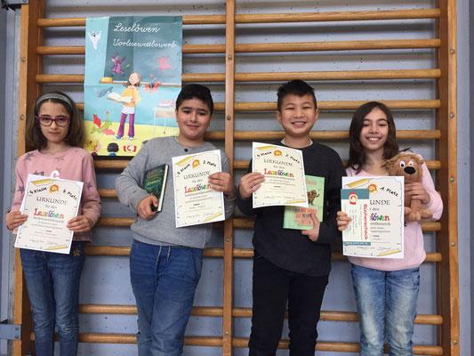 TeilnehmerInnen des 4. Schuljahres
