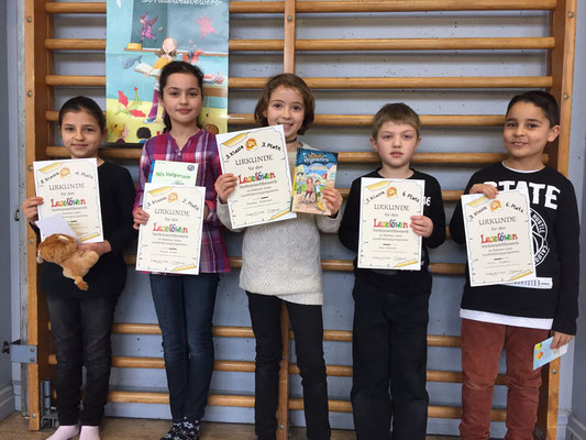 TeilnehmerInnen des 3. Schuljahres