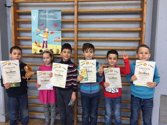 TeilnehmerInnen des 1. Schuljahres