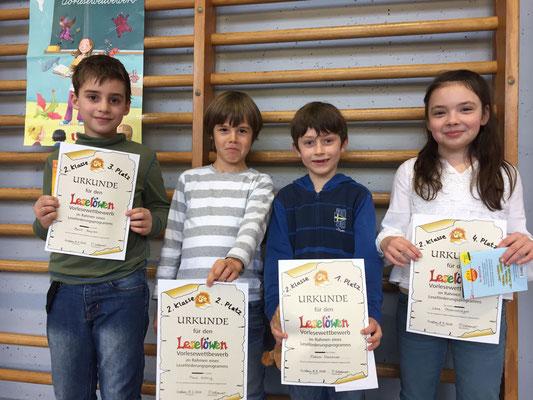 TeilnehmerInnen des 2. Schuljahres