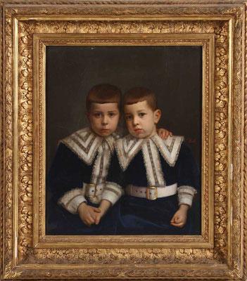 D. Manuel y D. Luis Felipe (hijos del rey Carlos)