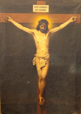 Cristo crucificado (antes de restauración)