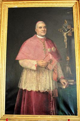 D. Manuel Correia de Bastos Pinto, obispo de Coimbra (foto cedida por Luis Portal. Oporto)