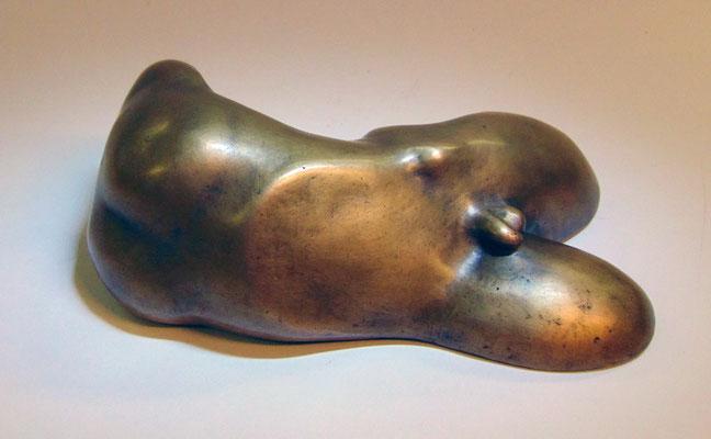 Mann 201, Bronze 6 x 20 x 11,5 cm