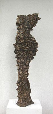 Frau 248, Bronze 145 x 45 x 45 cm