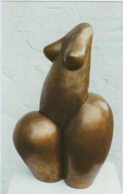 Frau 165, Bronze 58 x 34 cm