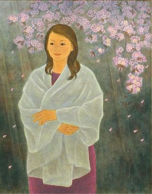 木尾美惠子  (苫小牧)    グランプリ 『凛』 日本画