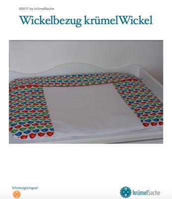eBook krümelWickel - die Nähanleitung für einen Bezug für die Wickelauflage