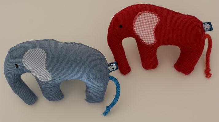 Babyrassel krümelFant - die Rassel als Elefant für Babies und Kinder kaufen bei dawanda