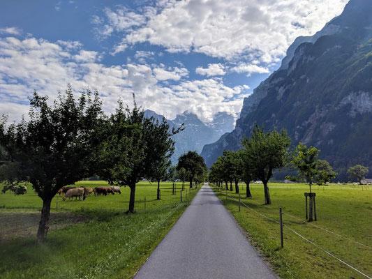 Cruisen nach Glarus