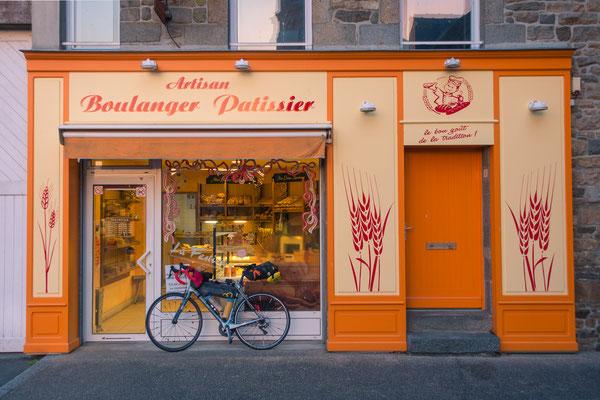 Bäckerei mit köstlichen französischen Backwaren