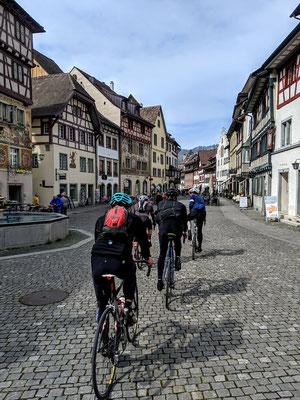 Die Altstadt von Stein am Rhein ist immer ein Schmuckstück