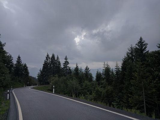 Weit oben auf dem Ibergeregg