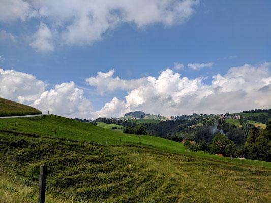 Aufstieg nach St. Anton