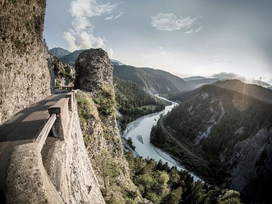 Spektakuläre Rheinschlucht