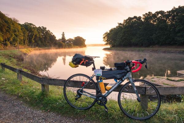 Morgenstimmung an einem See
