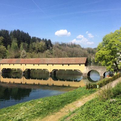 Brücke (Baujahr 1805) bei Rheinau (ZH)