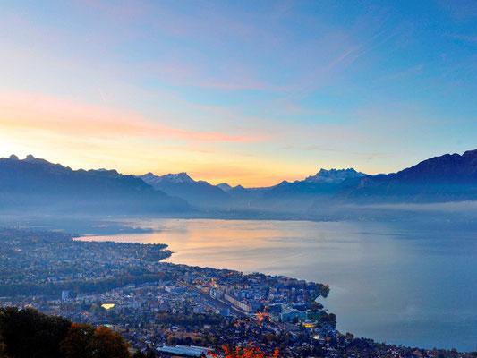 Montreux mit Lac Léman