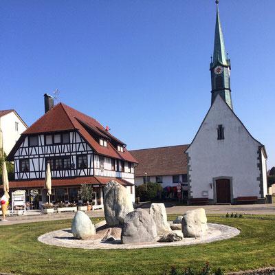 In der Nähe der Pfahlbausiedlung bei Uhldingen
