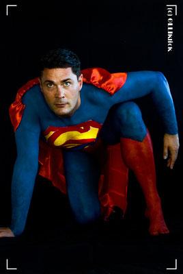 "Bodypainting ""Superman"" - 08/19"