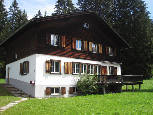 Haus Chalet 14 Davos im Sommer