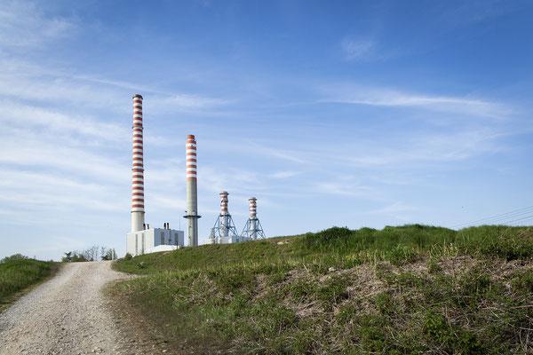 Centrale Termo Elettrica di Ostiglia (MN) - Aprile 2019