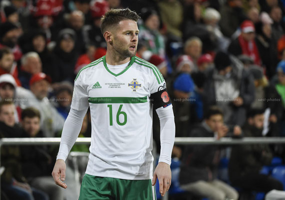 Oliver Norwood (NIR) (Sandro Stutz/sast-photos)