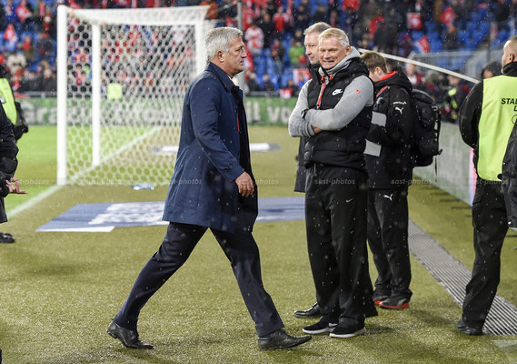 Manager Vladimir Petkovic (SUI) after the Game (Sandro Stutz/sast-photos)