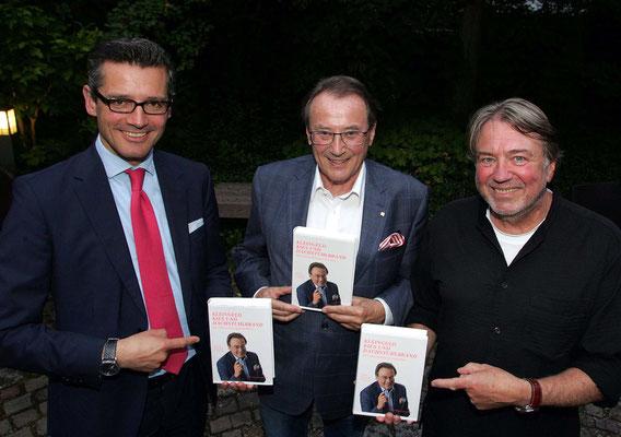 v.l.n.r.: Nürnberger Wirtschaftsreferent Dr. Michael Fraas, Autor Günter Morsbach und Co-Autor Klaus Kobjoll