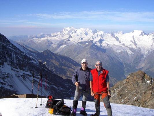 15. Juli 2006 Fletschhorn und Lagginhorn 4010m mit Franz