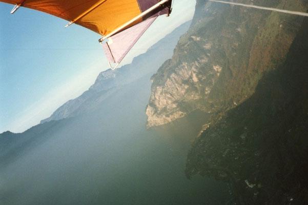 Flug über den Urnersee