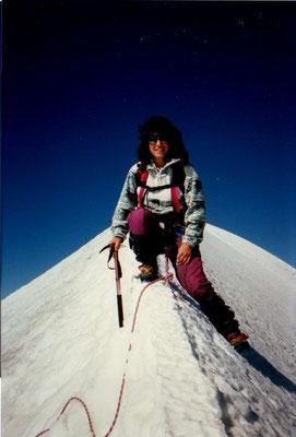 5. Oktober 1997 Breithorn 4164m mit Esther