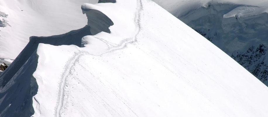 19. Juni 1994 Breithorn 4159m mit Olaf ?