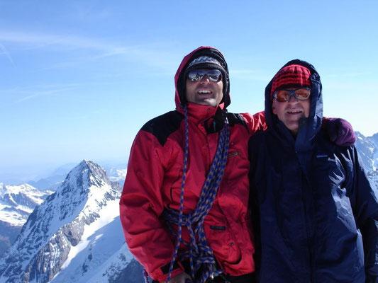 14. April 2007 Jungfrau 4158m mit Franz