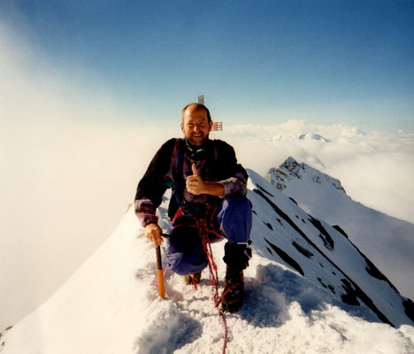 1. September 1996 Dom 4545m mit Franz
