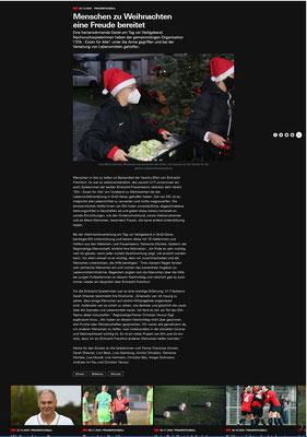 Eintracht Spielerinnen unterstützen Weihnachtsverteilung 2020 bei EfA https://frauen.eintracht.de/news/menschen-zu-weihnachten-eine-freude-bereitet-129979