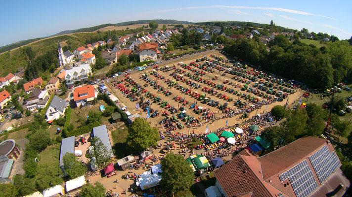 Luftbildaufnahme von einem der schönsten Ausstellungen