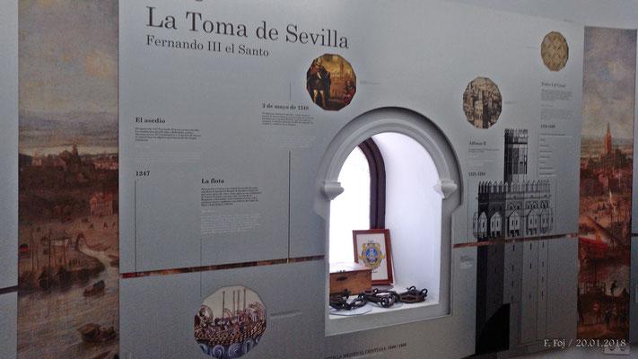 La reconquista de Sevilla se inicio desde el río
