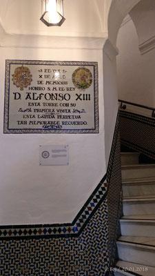 Escalera interior de acceso