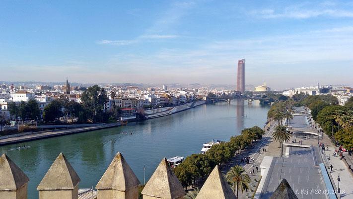 El Guadalquivir a su paso por Ttiana