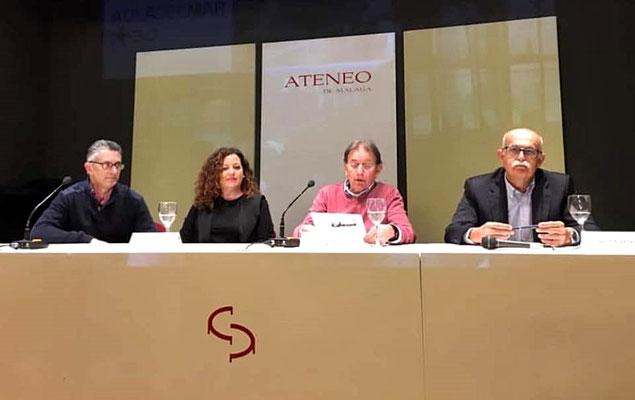 Juan Antonio Martín, Cristina Moreno, Juan Antonio Camiñas y Felipe Foj.
