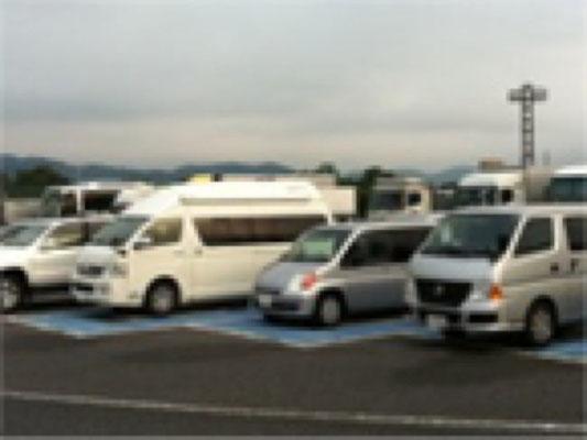駐車場でもすぐ分かります! 絶対に迷いません。