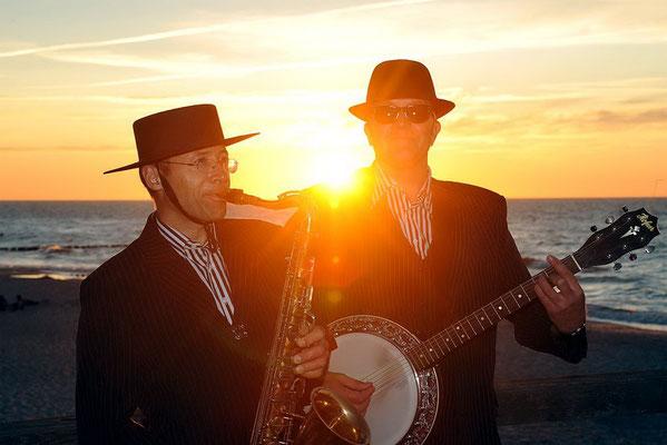 Jazz Music auf der Seebrücke Heiligendamm