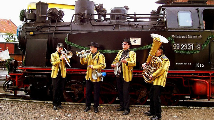 Old Time Jazz am Molli in Kühlungsborn